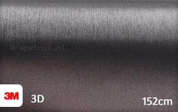 3M 1080 BR201 Brushed Steel wrap vinyl