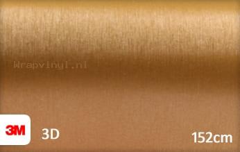 3M 1080 BR241 Brushed Gold wrap vinyl