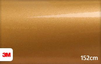 3M 1080 G241 Gloss Gold Metallic wrap vinyl