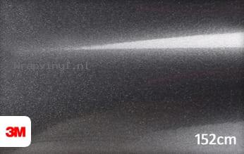 3M 1380 G281 Gloss Mineral Grey Metallic wrap vinyl