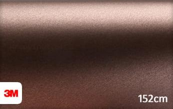 3M 1380 M219 Matte Brown Metallic wrap vinyl