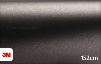 3M 1380 M221 Matte Charcoal Metallic wrap vinyl