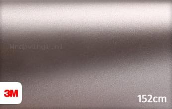 3M 1380 M230 Matte Grey Metallic wrap vinyl