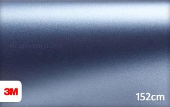 3M 1380 S257 Satin Ice Blue Metallic wrap vinyl
