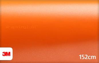 3M 1380 S284 Satin Autumn Orange wrap vinyl