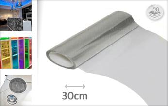 Transparant lampen wrap vinyl