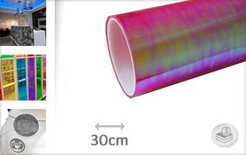 Flipflop roze doorzichtig wrap vinyl
