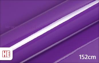 Hexis HX20008B Plum Violet Gloss wrap vinyl