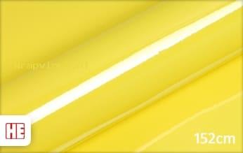 Hexis HX20108B Lemon Yellow Gloss wrap vinyl