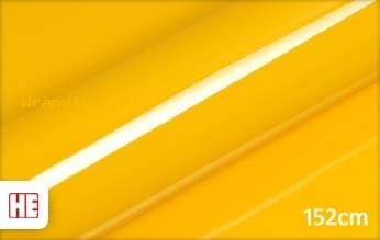 Hexis HX20123B Daffodil Yellow Gloss wrap vinyl