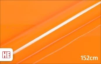 Hexis HX20495B Urban Orange Gloss wrap vinyl