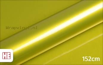 Hexis HX20558B Yellow Metallic Gloss wrap vinyl