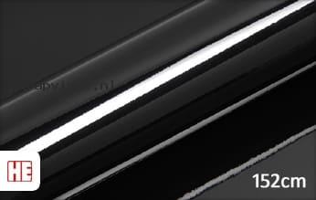 Hexis HX20889B Coal Black Gloss wrap vinyl