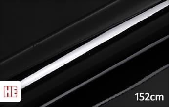 Hexis HX20890B Deep Black Gloss wrap vinyl