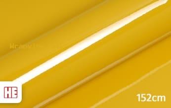 Hexis HX20JMIB Honey Yellow Gloss wrap vinyl