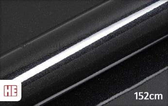 Hexis HX20NEPB Sparkle Black Gloss wrap vinyl