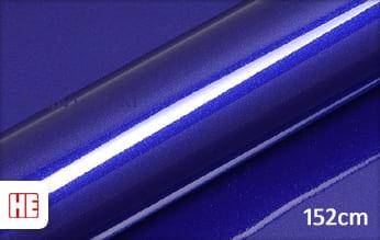 Hexis HX20P005B Triton Blue Gloss wrap vinyl