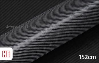 Hexis HX30CA890B Black Carbon Gloss wrap vinyl