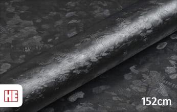 Hexis HX30CAF89S Black Forged Carbon Satin wrap vinyl