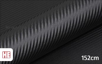 Hexis HX30CANCOB Raven Black Carbon Gloss wrap vinyl