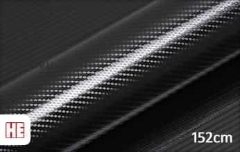 Hexis HX30CANPEB Petroleum Black Carbon Gloss wrap vinyl