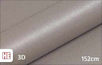 Hexis HX30PGGTAB Grain Leather Taupe Grey Gloss wrap vinyl