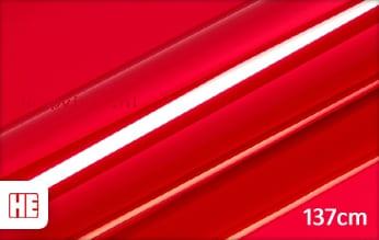 Hexis HX30SCH02B Super Chrome Red Gloss wrap vinyl