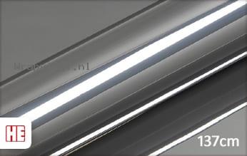 Hexis HX30SCH03B Super Chrome Titanium Gloss wrap vinyl