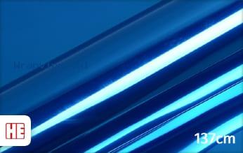 Hexis HX30SCH05B Super Chrome Blue Gloss wrap vinyl