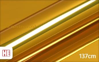 Hexis HX30SCH07B Super Chrome Gold Gloss wrap vinyl