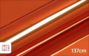 Hexis HX30SCH08B Super Chrome Orange Gloss wrap vinyl