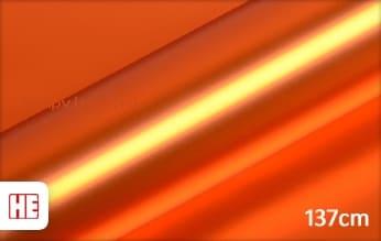 Hexis HX30SCH08SB Super Chrome Orange Satin wrap vinyl
