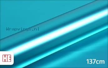 Hexis HX30SCH11S Super Chrome Blue Satin wrap vinyl
