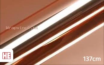 Hexis HX30SCH12B Super Chrome Rose Gold Gloss wrap vinyl