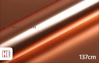 Hexis HX30SCH12S Super Chrome Rose Gold Satin wrap vinyl