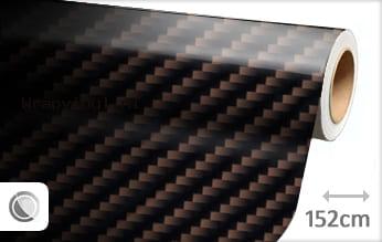 Bruin 2D carbon wrap vinyl