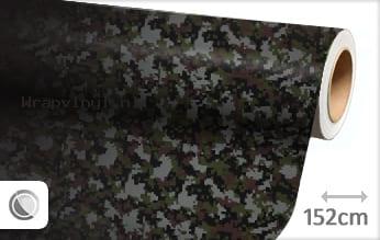 Camouflage digitaal wrap vinyl