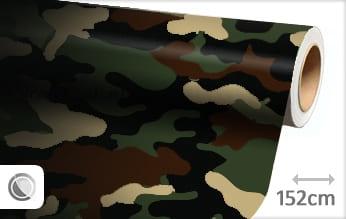 Camouflage leger wrap vinyl