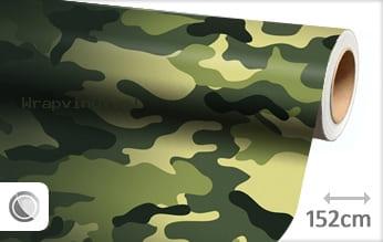 Camouflage oerwoud wrap vinyl