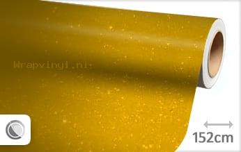 Diamant geel wrap vinyl