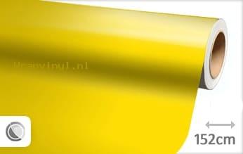 Glans geel wrap vinyl
