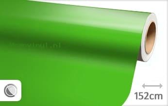 Glans groen wrap vinyl