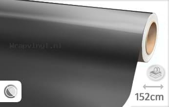 Glans metallic antraciet wrap vinyl