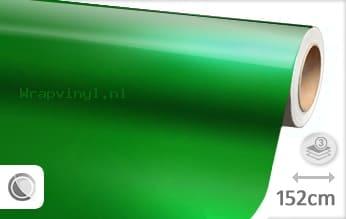 Glans metallic groen wrap vinyl