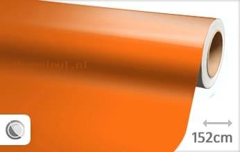 Glans oranje wrap vinyl