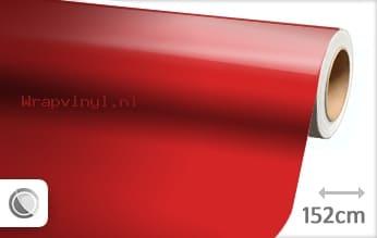 Glans rood wrap vinyl