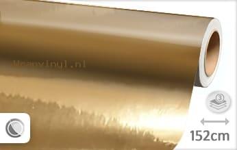 Goud chroom wrap vinyl