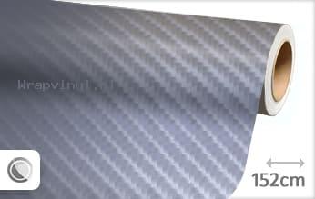 Grijs 4D carbon wrap vinyl
