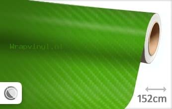 Groen 4D carbon wrap vinyl