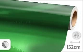 Groen chroom wrap vinyl